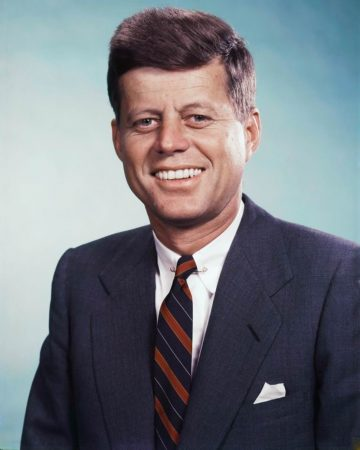John F. Kennedy Haircut