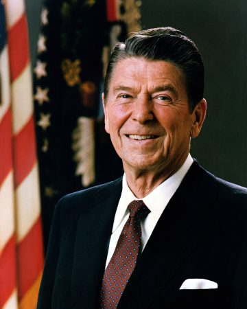 Ronald Reagan Haircut