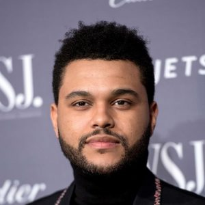 The Weeknd Haircut