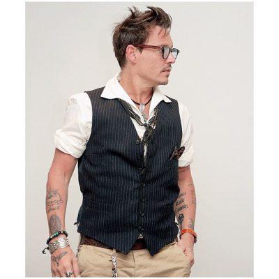 Johnny Depp Haircut
