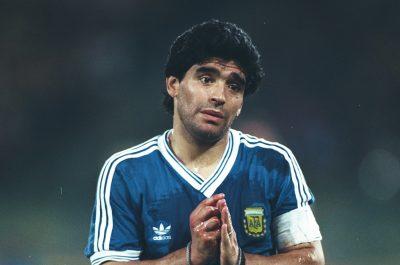 Diego Maradona Hairstyle