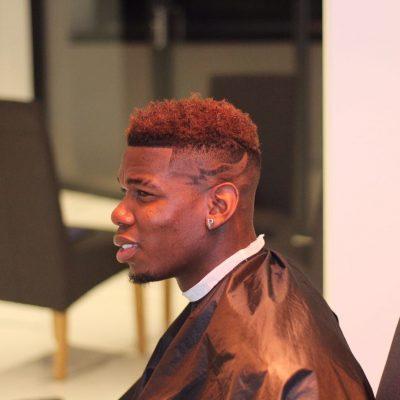 Paul Pogba Hairstyle