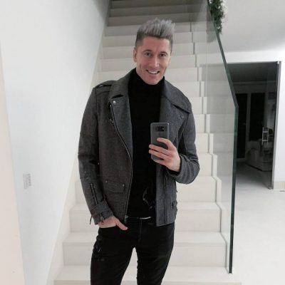Robert Lewandowski Hairstyle