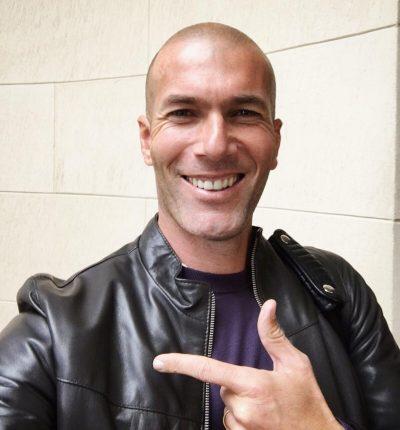 Zinedine Zidane Haircut