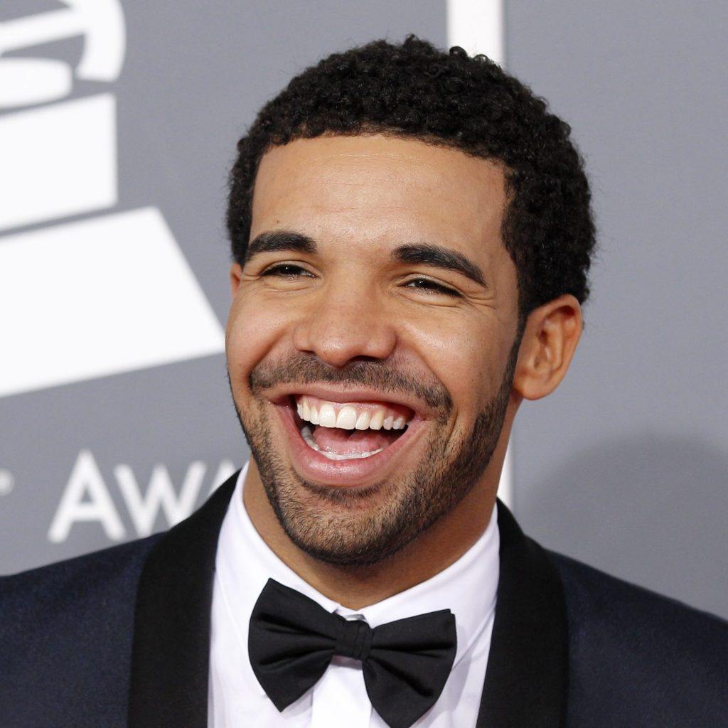 Drake Short Afro + Short Facial Hair