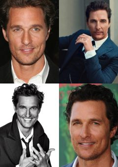 Matthew McConaughey Medium to Long Haircut