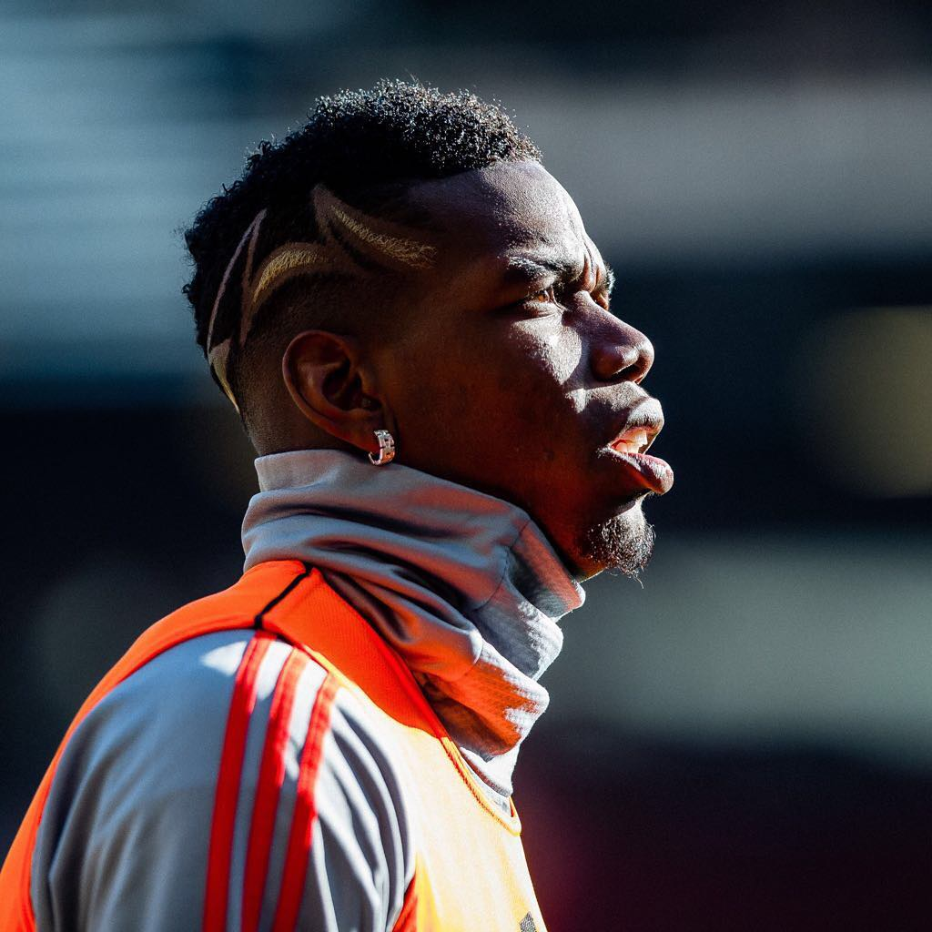 Paul Pogba Haircut