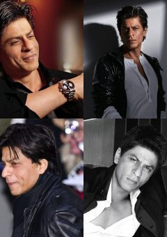 Shah Rukh Khan Wind-Swept, Long Hairstyle