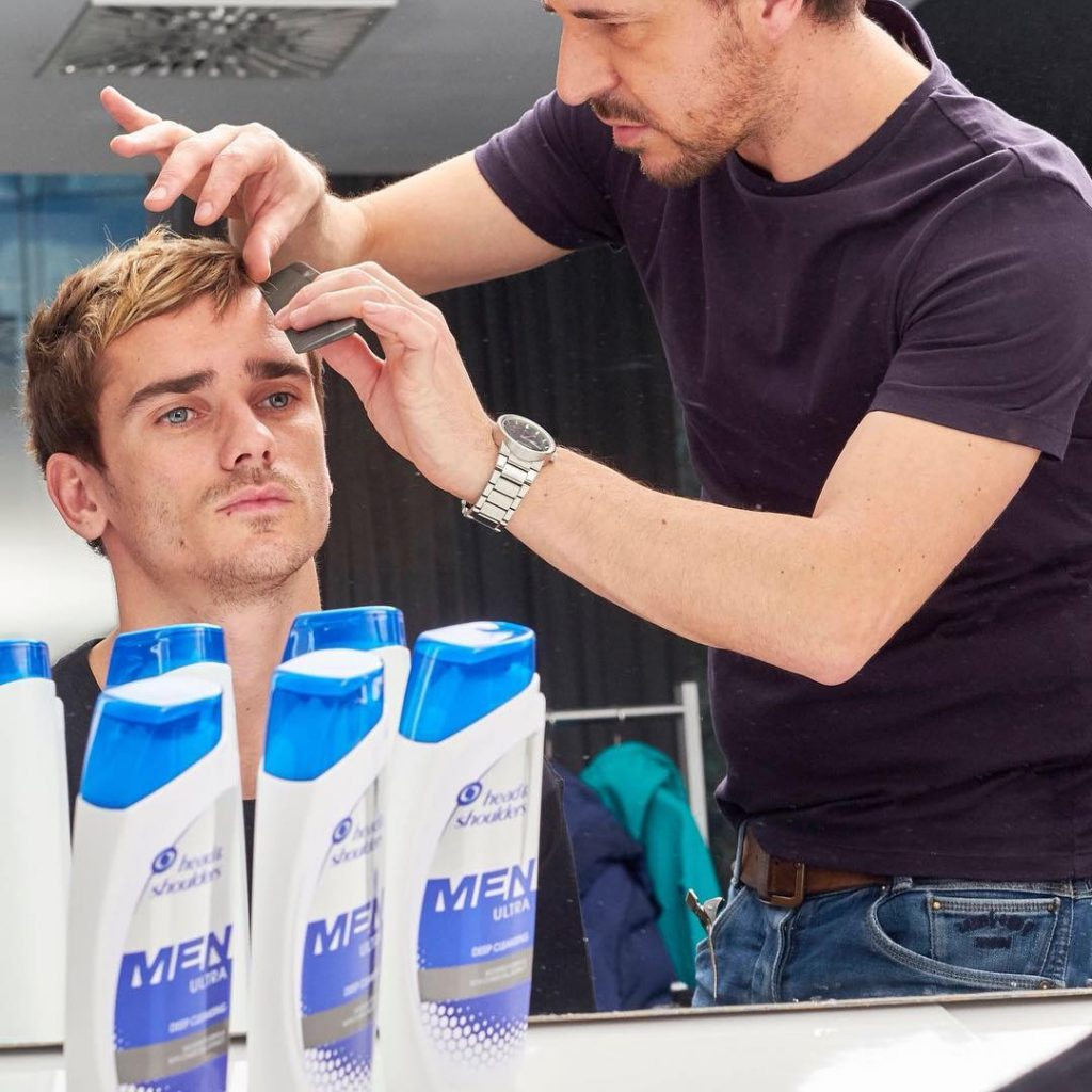 The Antoine Griezmann Haircut