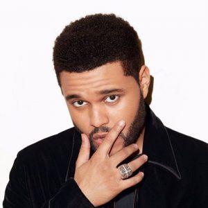 The Weeknd Haircut