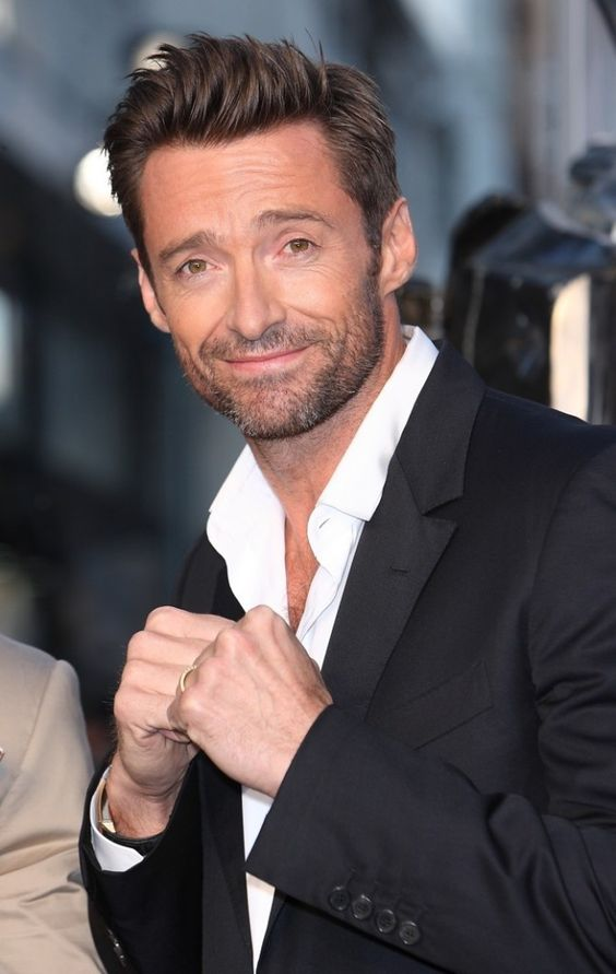 Hugh Jackman Short Hairstyle How To Get 2018 Men S