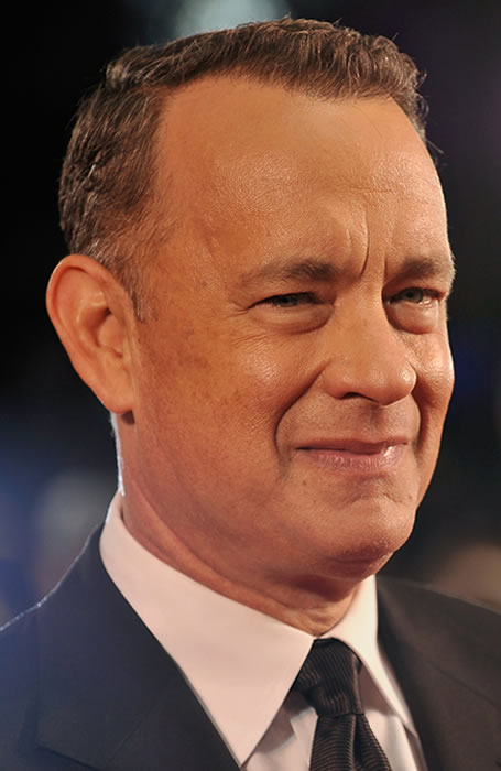 Tom Hanks French crop hairstyle
