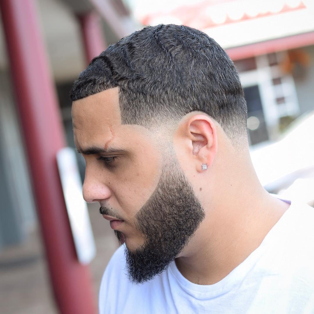 Buzz cut + Wave + Beard