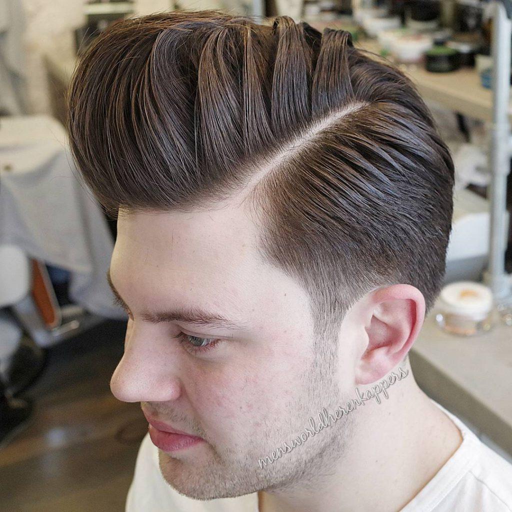 Classic Pompadour + Taper Cut