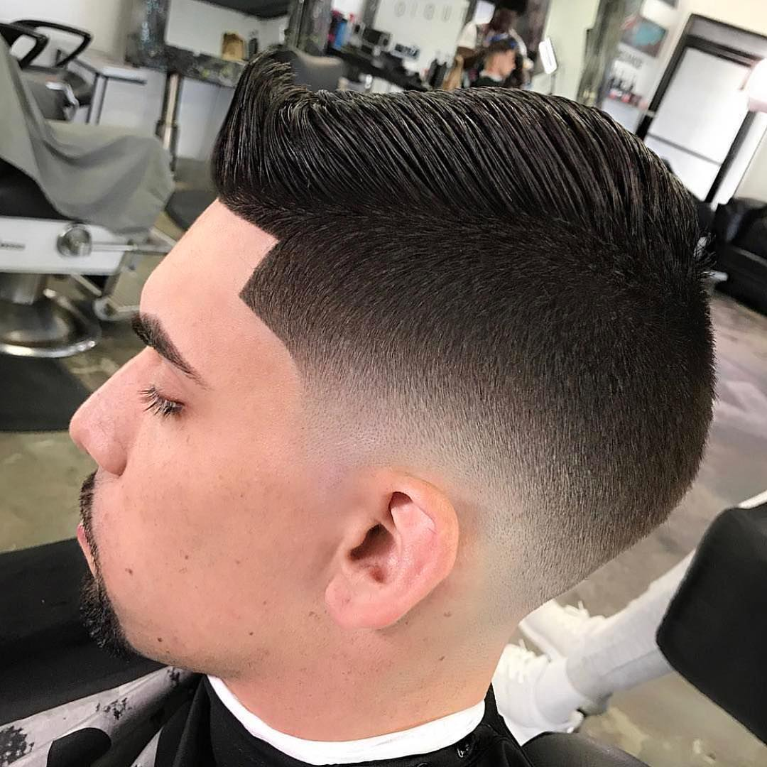 Low Fade Haircut for Short Hair