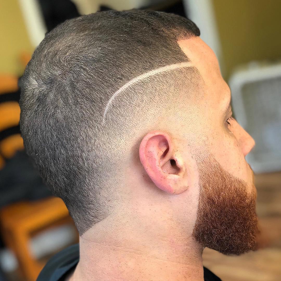 Neat Buzz Cut + Beard