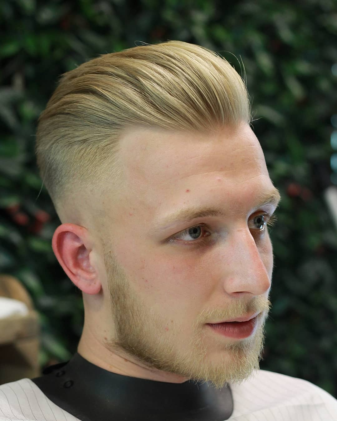 Neat Pomp + short beard