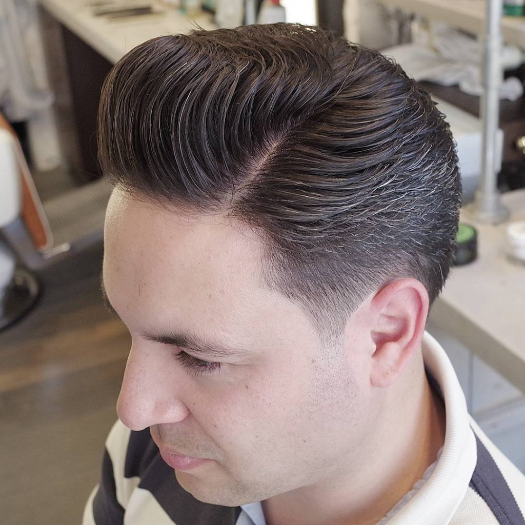 Old School Pompadour