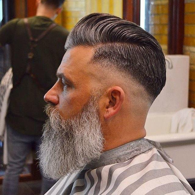 Pomp + Short Sides + Beard