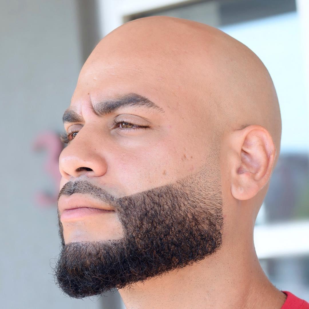 Shaved Head + Beard