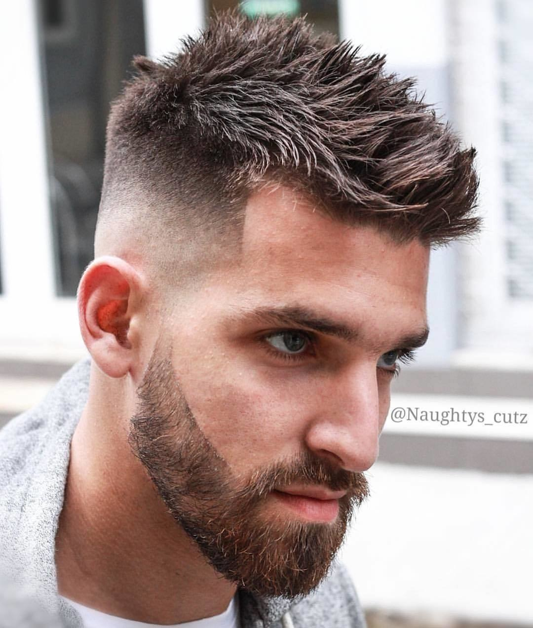 Spiky Undercut Hairstyle