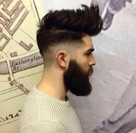 Textured Undercut Hairstyle