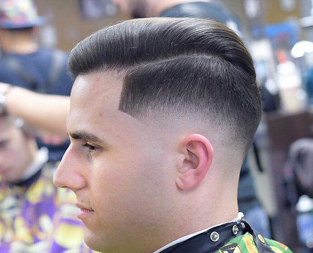 Traditional Combover + Butter soft Fade
