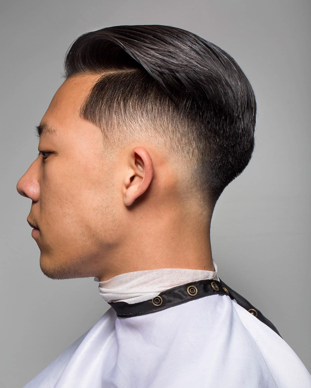 Undercut with a Neat Combover