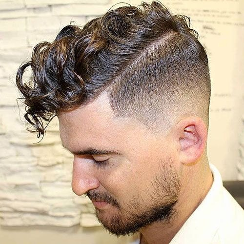 Faux Hawk for Medium Curly Hair