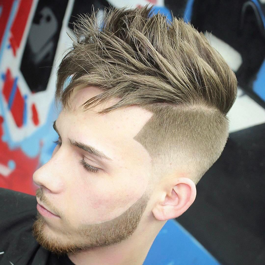 Messy, Textured & Spiky Cut for Medium Hair