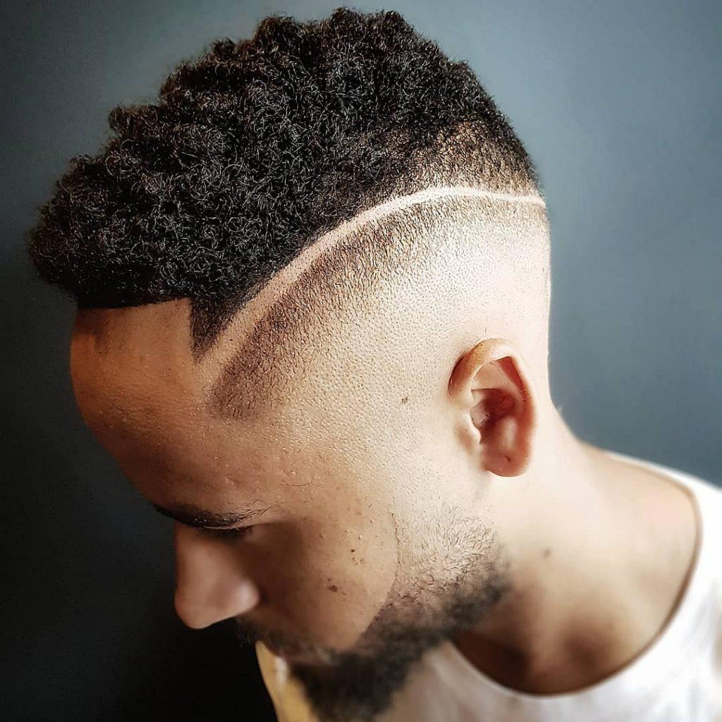 Short Afro + Undercut