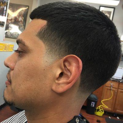 Simple Taper on Short Hair