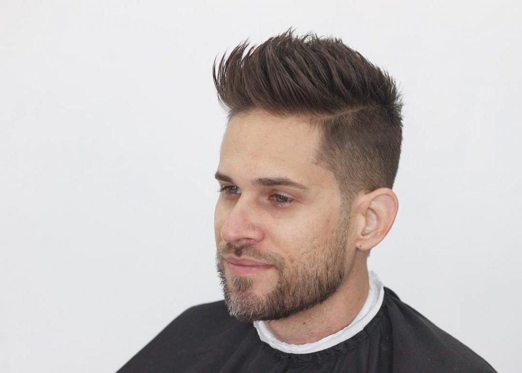 Textured Undercut for Medium Hair