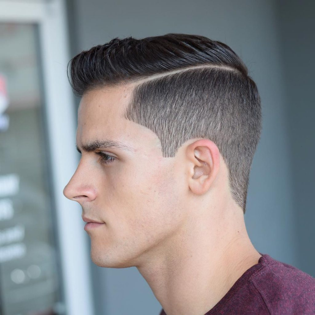 Clean Cut + Sharp Fade