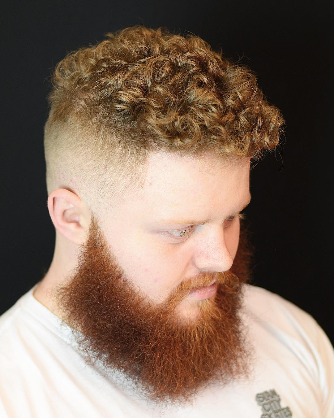 Curly Crop + Strong Beard
