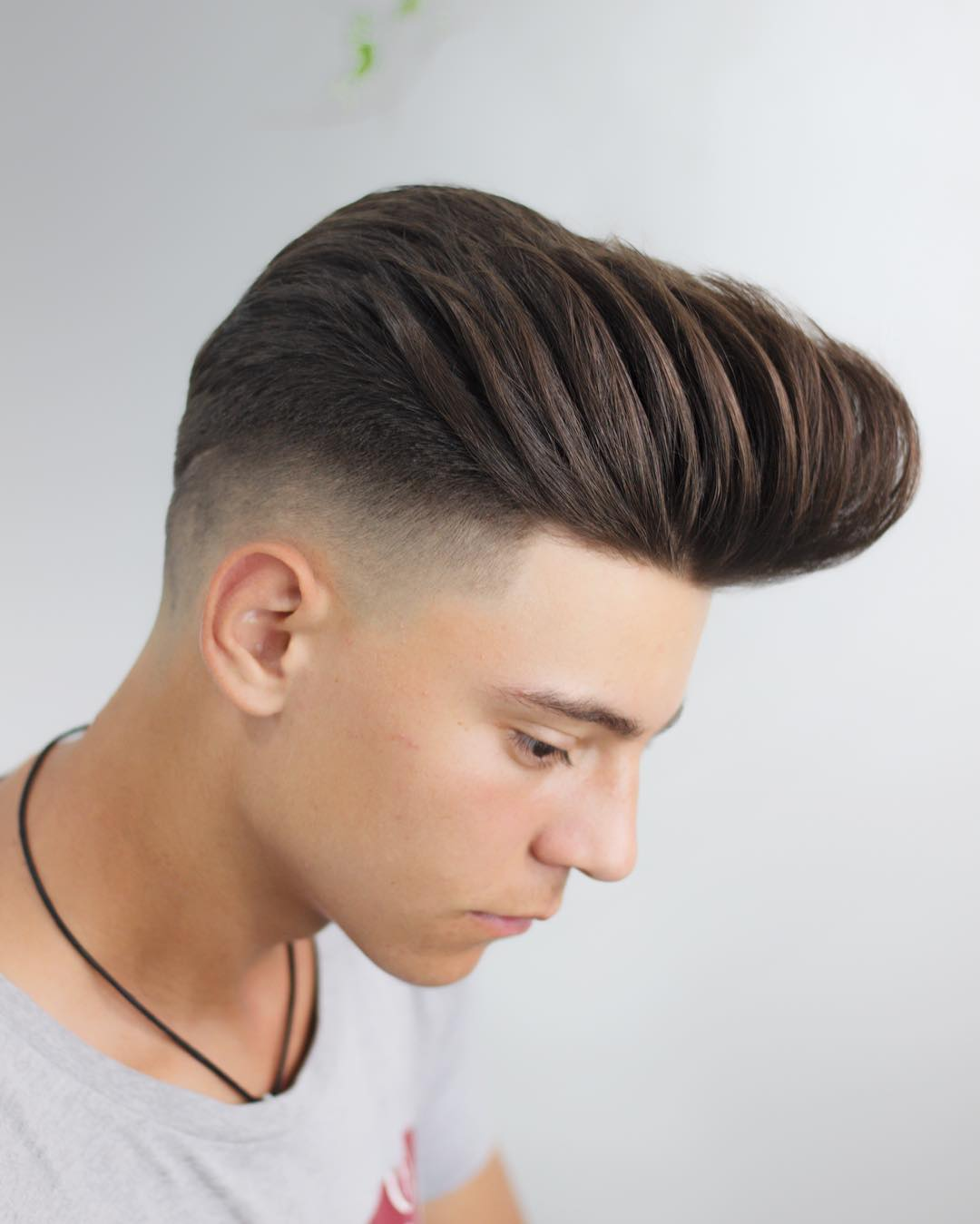 Medium Length Pompadour