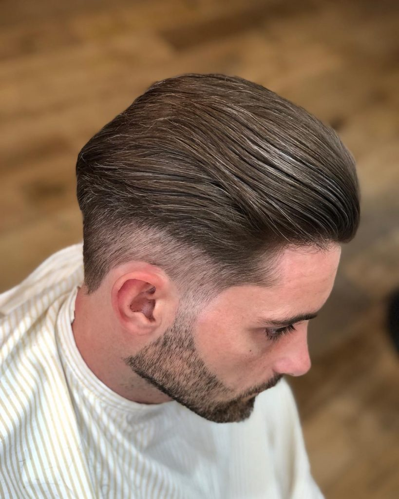 Medium Slick Back