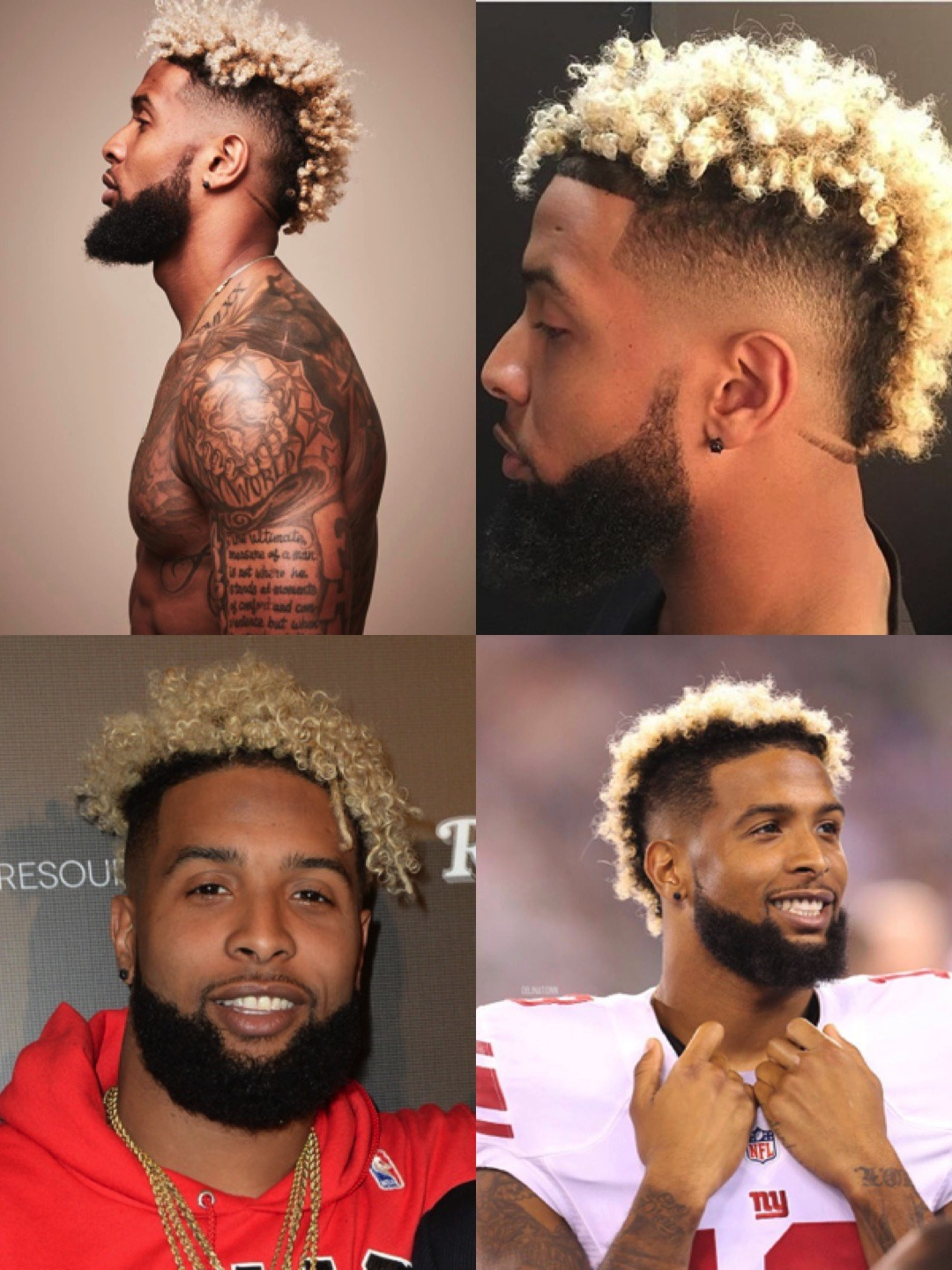 Odell Beckham Jr Haircut Features How To Style Men S