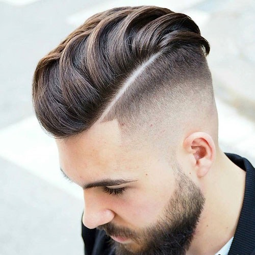 Pomp + Side Part