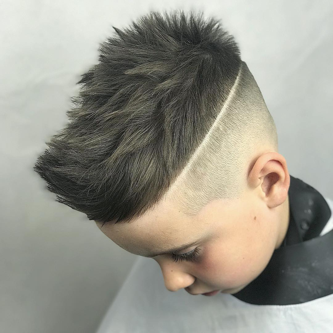 Sharp Fade for Skipy Hair