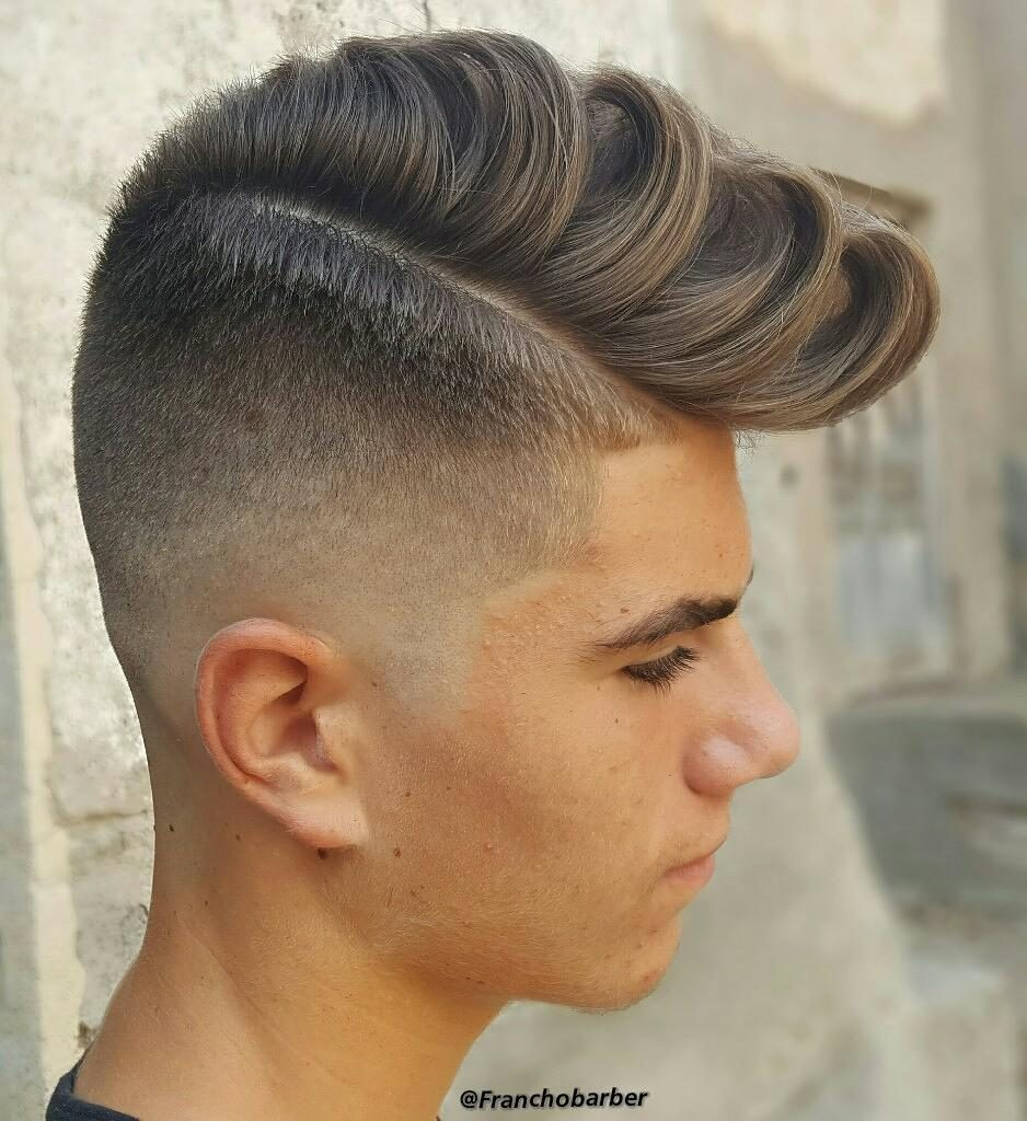 Smooth, Textured Quiff