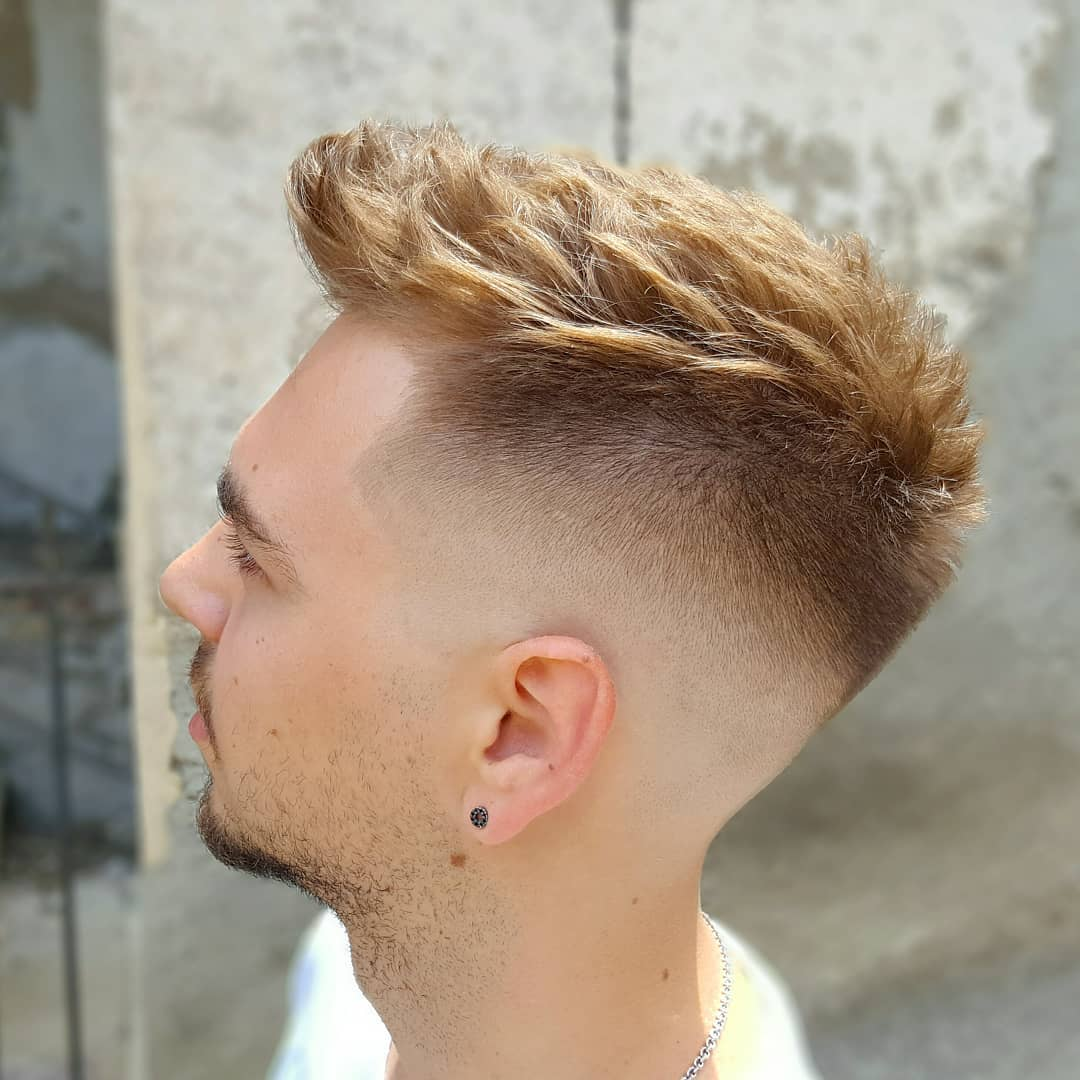 Spiky Cut + Fade