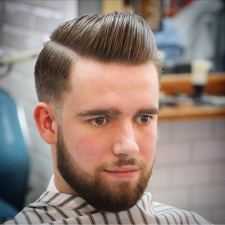 Taper Cut + Sleek Combover