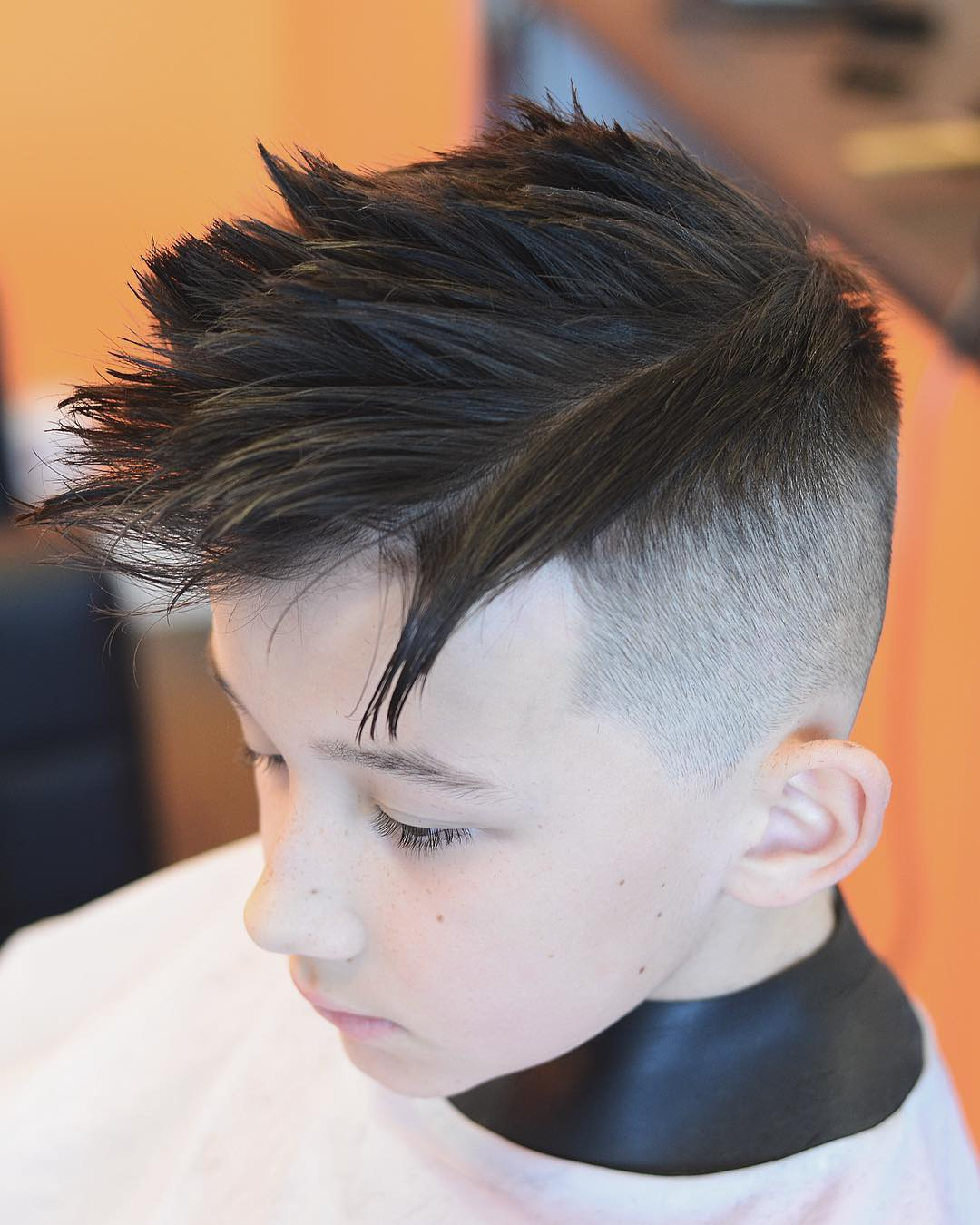 Taper Fade + Spiky