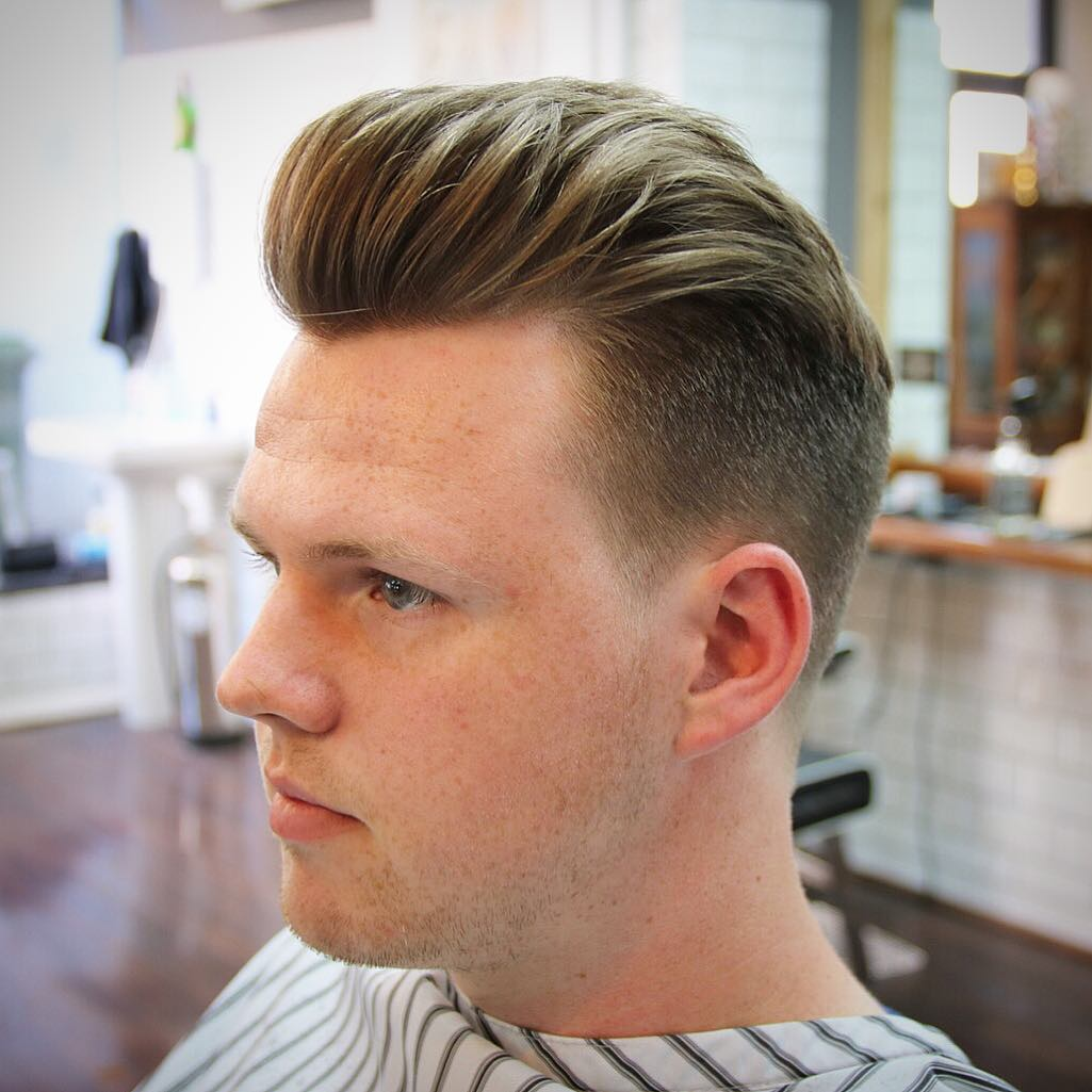Voluminous Pomp + Taper