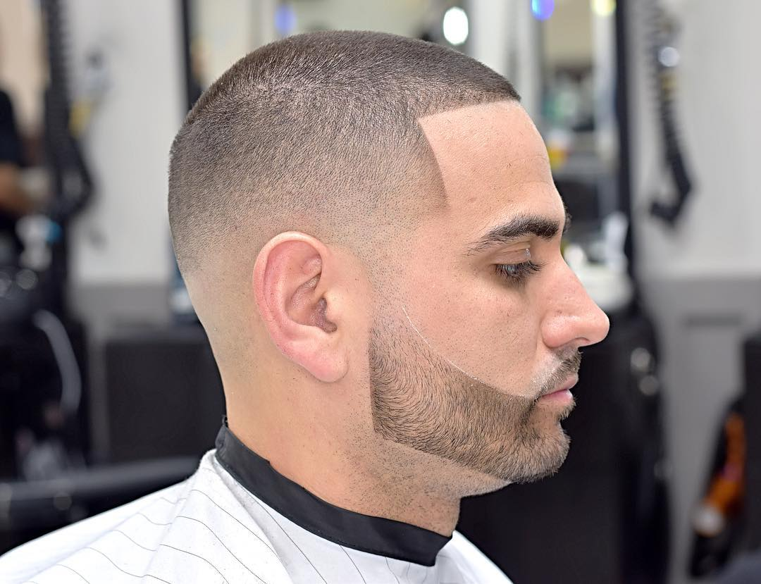 Buzz Cut + sharp Edge Line up