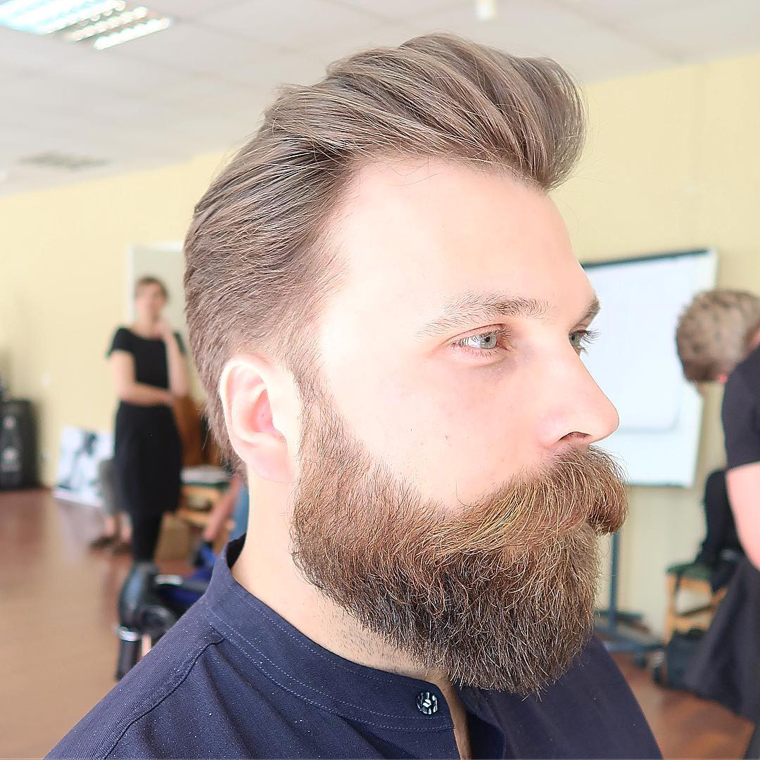 Classic Pomp + Beard