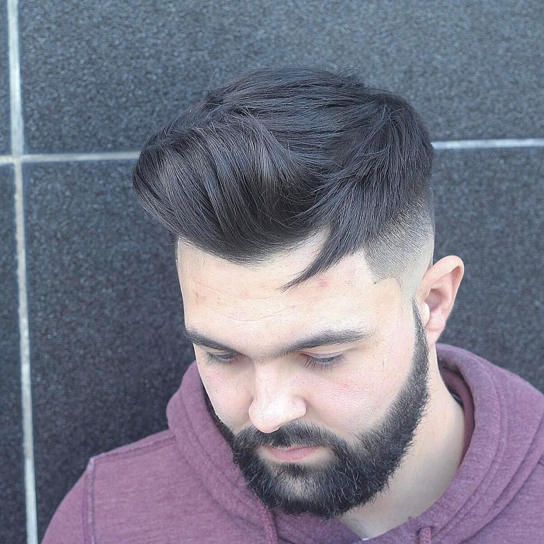 Classic Quiff + Beard