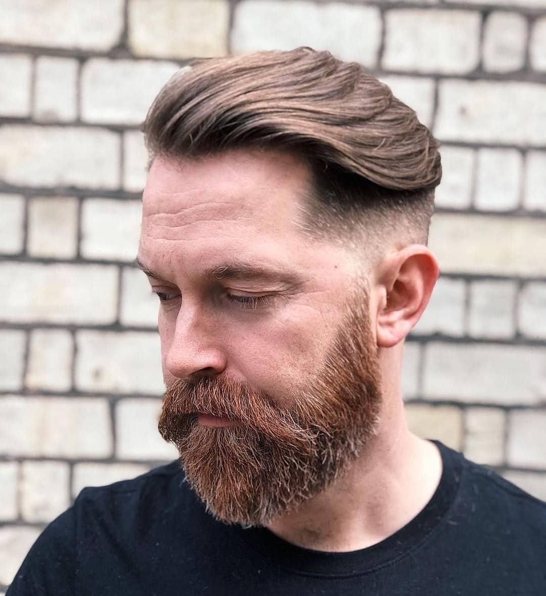 Classic Undercut + Beard