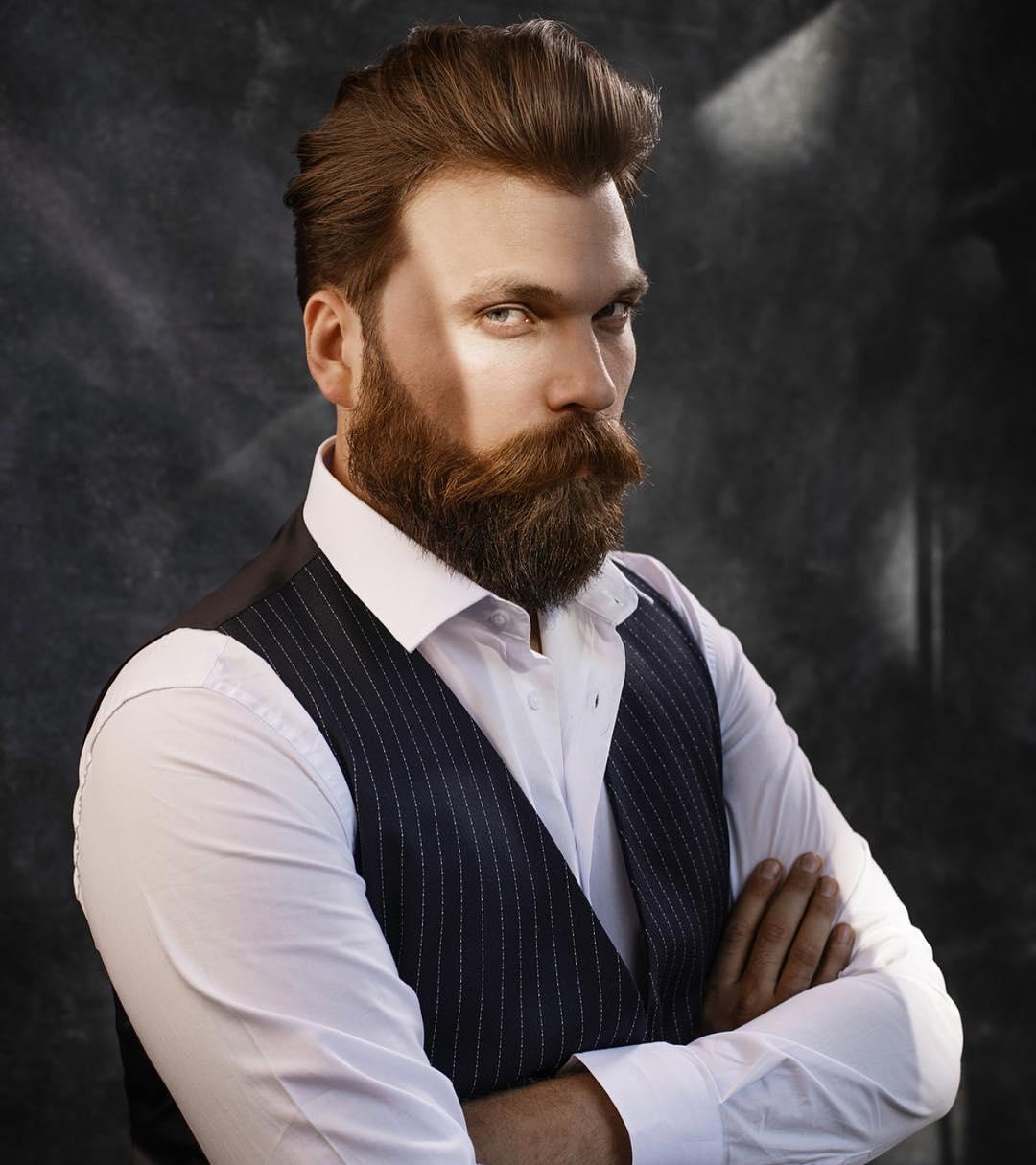 Pomp + Full Beard